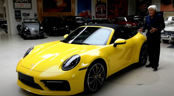 Jay Leno comes away impressed with the 2021 Porsche 911 Targa 4S